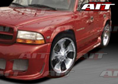 AIT Racing - Dodge Durango AIT EXE Style Side Skirts - DD98HIEXESS
