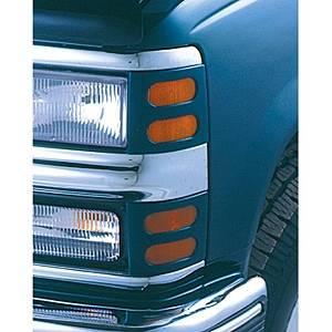 V-Tech - Mercury Cougar V-Tech Headlight Marker Mask - 22345