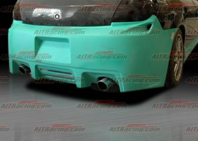 AIT Racing - Dodge Neon AIT Racing Striker Style Rear Bumper - DN03HISTKRB