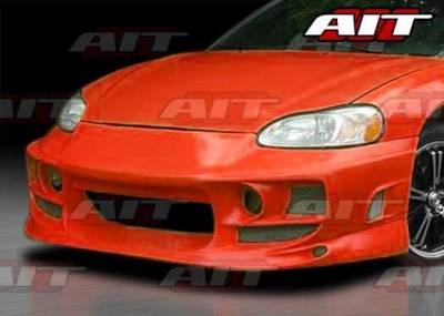 AIT Racing - Dodge Stratus 2DR AIT BMX Style Front Bumper - DS01HIBMXFB2