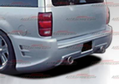 AIT Racing - Ford Expedition AIT Racing EXE Style Rear Bumper - F1597HIEXERB