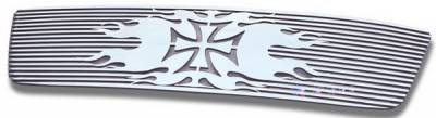 APS - Ford F150 APS Symbolic Grille - Honeycomb without Logo Opening - Upper - Aluminum - F25725R