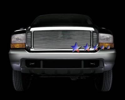 APS - Ford F450 APS Billet Grille - Upper - Aluminum - F65709A