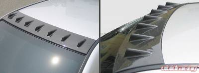 Chargespeed - Subaru WRX Chargespeed Roof Fin