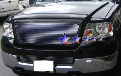 APS - Ford F150 APS Billet Grille - Honeycomb Style without Logo - Upper - Aluminum - F65725A