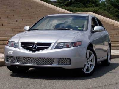Custom - ACURA TSX NEW MESH GRILLE - Satin Finish