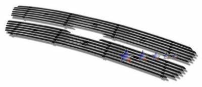 APS - Ford F150 APS Billet Grille - Bar Style - Upper - Aluminum - F65729A