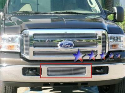 APS - Ford F550 APS Billet Grille - Bumper - Aluminum - F65798A