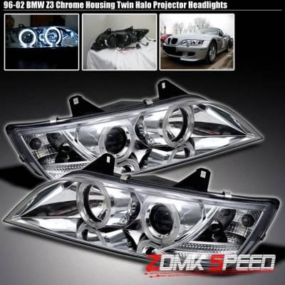 X3 - Chrome Headlights Halo