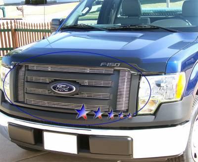 APS - Ford F150 APS Billet Grille - Upper - Aluminum - F66606A