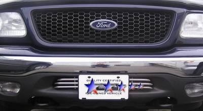 APS - Ford F150 APS Tubular Grille - Bumper - Stainless Steel - F68012S