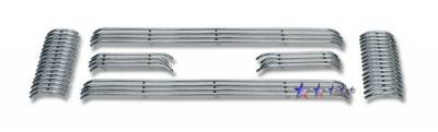 APS - Ford F350 Superduty APS Tubular Grille - Upper - Stainless Steel - F685327