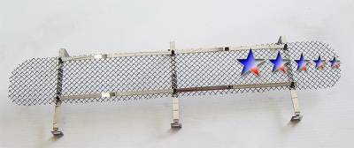 APS - Ford F150 APS Wire Mesh Grille - Bumper - Stainless Steel - F75355T