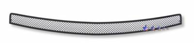APS - Ford Mustang APS Black Wire Mesh Grille - Bumper - Stainless Steel - F76017H