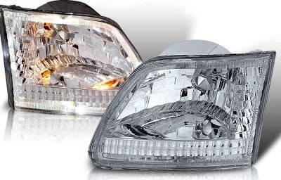 WinJet - Ford F250 WinJet Euro Headlight - WJ10-0014-01