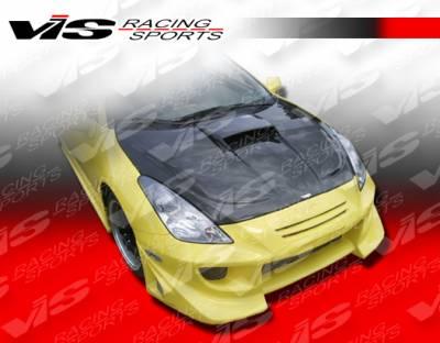 VIS Racing - Toyota Celica VIS Racing Zyclone Hood Scoop - Carbon Fiber - 00TYCEL2DZYC-009C