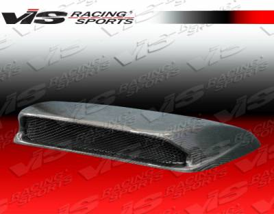 VIS Racing - Subaru WRX VIS Racing STI Carbon Fiber Hood Scoop - 06SBWRX4DSTI-019C