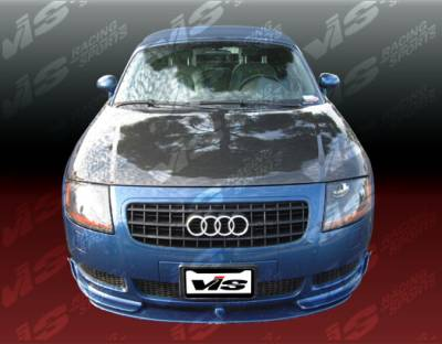 VIS Racing - Audi TT VIS Racing OEM Black Carbon Fiber Hood - 00AUTT2DOE-010C