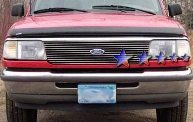 APS - Ford Ranger APS Billet Grille - Upper - Aluminum - F85013A