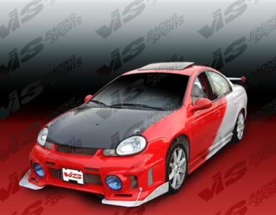 VIS Racing - Dodge Neon 4DR VIS Racing OEM Black Carbon Fiber Hood - 00DGNEO4DOE-010C