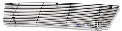 APS - Ford E-Series APS Billet Grille - 15 Bar - Upper - Stainless Steel - F85020S