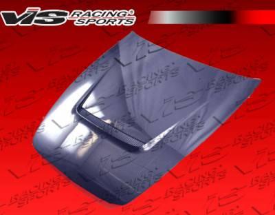 VIS Racing - Honda S2000 VIS Racing A Spec Black Carbon Fiber Hood - 00HDS2K2DASC-010C