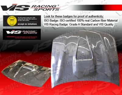 VIS Racing - Lexus IS VIS Racing G Force Black Carbon Fiber Hood - 00LXIS34DGF-010C