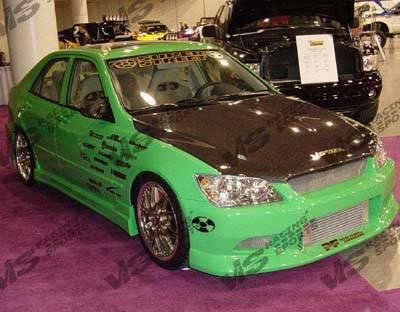VIS Racing - Lexus IS VIS Racing OEM Black Carbon Fiber Hood - 00LXIS34DOE-010C