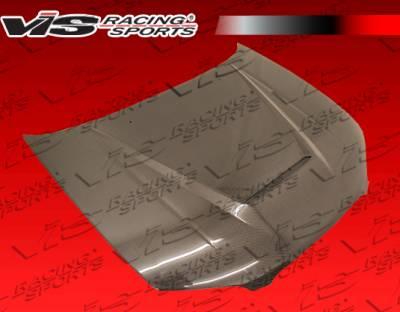 VIS Racing - Nissan Maxima VIS Racing Invader Black Carbon Fiber Hood - 00NSMAX4DVS-010C