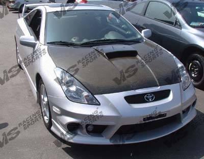 VIS Racing - Toyota Celica VIS Racing OEM Black Carbon Fiber Hood - 00TYCEL2DOE-010C