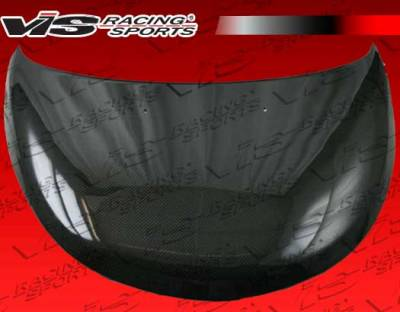 VIS Racing - Chrysler PT Cruiser VIS Racing OEM Black Carbon Fiber Hood - 01CYPTC4DOE-010C