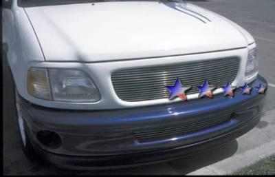 APS - Ford F150 APS Billet Grille - Bumper - Aluminum - F85039A