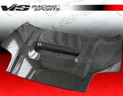 VIS Racing - Acura NSX VIS Racing Type R Black Carbon Fiber Hood - 02ACNSX2DTYR-010C