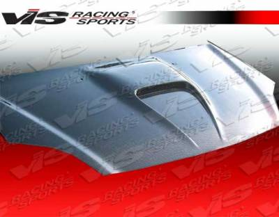 VIS Racing - Acura RSX VIS Racing G Force Black Carbon Fiber Hood - 02ACRSX2DGF-010C