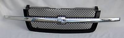 Custom - Chrome Black Front Grille
