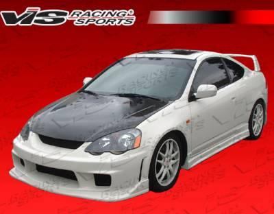 VIS Racing - Acura RSX VIS Racing OEM Black Carbon Fiber Hood - 02ACRSX2DOE-010C