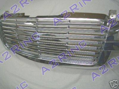 Custom - 1 Pc Chrome Front Grille