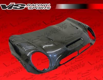 VIS Racing - Mini Cooper VIS Racing DTM Black Carbon Fiber Hood - 02BMMCS2DDTM-010C