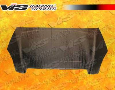VIS Racing - Honda CRV VIS Racing OEM Black Carbon Fiber Hood - 02HDCRV4DOE-010C