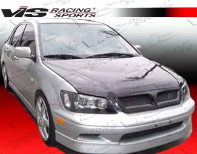 VIS Racing - Mitsubishi Lancer VIS Racing OEM Black Carbon Fiber Hood - 02MTLAN4DOE-010C