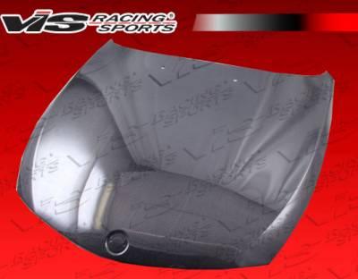 VIS Racing - BMW 6 Series VIS Racing OEM Black Carbon Fiber Hood - 03BME632DOE-010C
