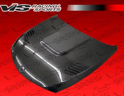 VIS Racing - BMW 6 Series VIS Racing XTS Black Carbon Fiber Hood - 03BME632DXTS-010C