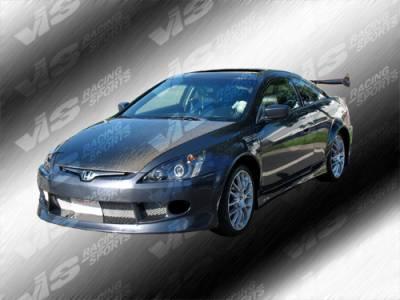 VIS Racing - Honda Accord 2DR VIS Racing OEM Black Carbon Fiber Hood - 03HDACC2DOE-010C