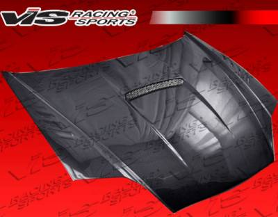 VIS Racing - Hyundai Tiburon VIS Racing SVX Carbon Fiber Hood - 03HYTIB2DSVX-010C