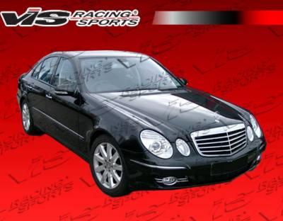 VIS Racing - Mercedes-Benz E Class VIS Racing OEM Black Carbon Fiber Hood - 03MEW2114DOE-010C