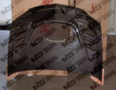 VIS Racing - Mitsubishi Evolution 8 VIS Racing G Speed Black Carbon Fiber Hood - 03MTEV84DGS-010C