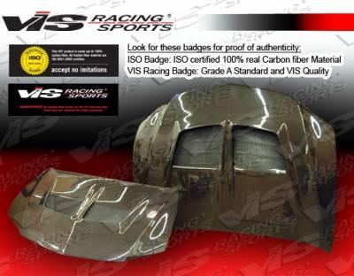 VIS Racing - Mitsubishi Evolution 8 VIS Racing VRS Black Carbon Fiber Hood - 03MTEV84DVRS-010C