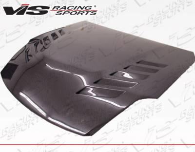 VIS Racing - Nissan 350Z VIS Racing Astek Carbon Fiber Hood - 03NS3502DAST-010C