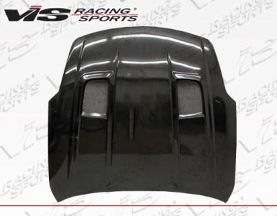 VIS Racing - Nissan 350Z VIS Racing IDS Carbon Fiber Hood - 03NS3502DIDS-010C