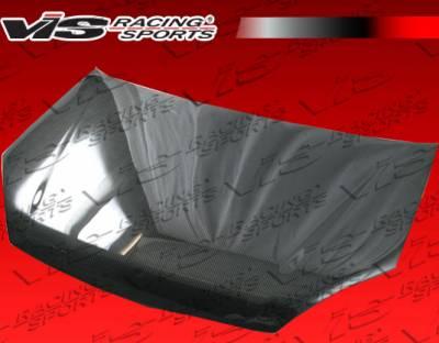 VIS Racing - Suzuki Aerio VIS Racing OEM Black Carbon Fiber Hood - 03SZAER4DOE-010C